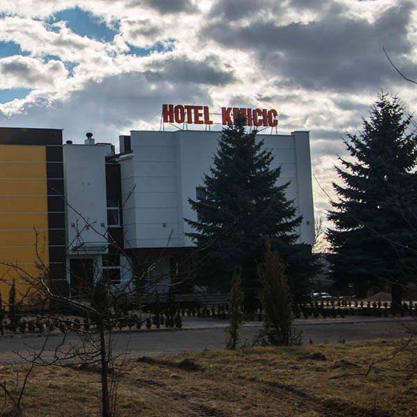 Litery podświetlane hotel