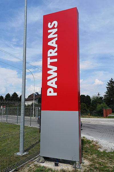 Pylon stacja benzynowa Lublin